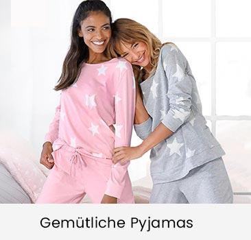 Gemütliche Pyjamas online bestellen auf ackermann.ch