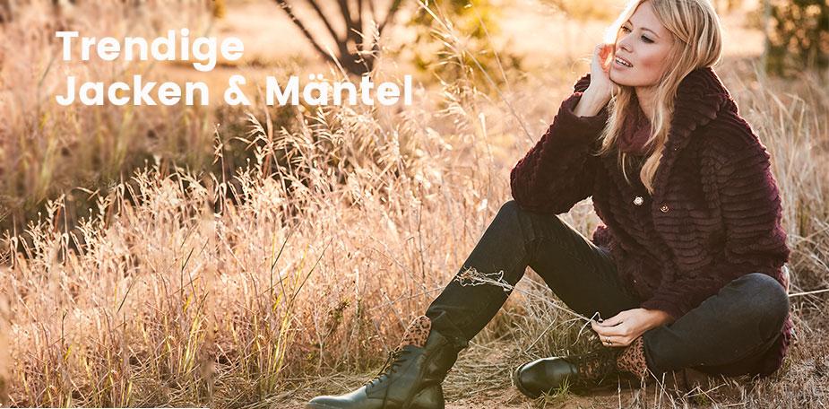 Trendige Jacken und Mäntel bei Ackermann online bestellen